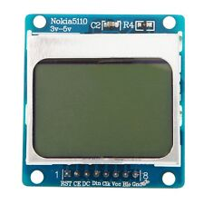 LCD Screen Display Module 3V-5V White Backlight adapter PCB for Nokia 5110