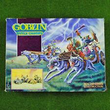 Warhammer Classic Citadel Goblin Battle Chariots, Metal Rare OOP Goblins Chariot