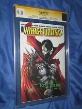 IMAGE UNITED #1 CGC 9.8 SS Signed by Todd McFarlane ~SPAWN/HAUNT Preview