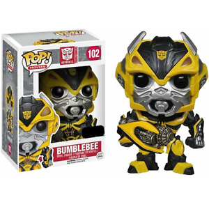 Funko POP Movies Transformers Age of Extinction Bumblebee Figure with Weapon 102