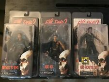 Neca Evil Dead 2 Farewell to Arms, Hero Ash, Hero From the Sky Ash Figures Set