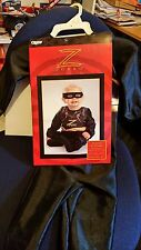 MASK OF ZORRO ANTONIO BANDERAS  MOVIE INFANT HALLOWEEN COSTUME BABY OUTFIT 2002