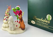 DEPT 56 THE GRINCH SNOWBABIES GUEST COLLECTION MINT IN BOX!!