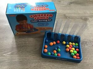 Lakeshore Learning Color Sorting Kit-Tweezer Tongs Not Complete