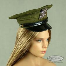 1/6 Phicen, TBLeague, Hot Toys, Pop Toys - Female Olive Color Police Hat