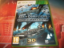 "jeu rare xbox 360 air conflicts pacific carriers ""combats aériens"""