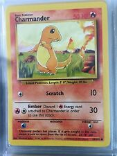 46/102 COMMON CHARMANDER ORIGINAL 1999 BASE Pokemon Card NEVER USED/PLAYED