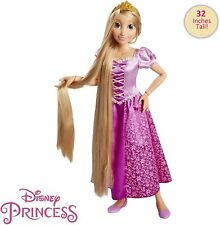 Disney Princess Bambola Rapunzel 80cm Prodotto Ufficiale Disney