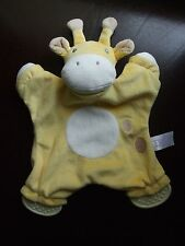 Tesco Yellow Cow comforter toy Teether  comfort blankie