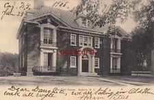 1906 AUBURN NY City Club House No. 2689 Rochester News Co, sent to Mrs. Nutt