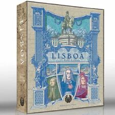 Lisboa Board Game Eagle-Gryphon Games Strategy City Building New