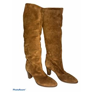 Vince Women's Casper Tall Boots cedar size 9.5 NEW $595