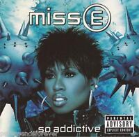 MISSY ELLIOTT - Miss E ...So Addictive (USA 16 Tk CD Album)