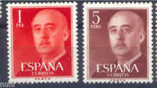 Spain Edifil # 1290/1291 ** MNH Set. General Franco definitives FNMT-B CIF 60