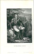 1845 MARÉCHAL VICTOR M.A. Thiers Duca di Belluno Napoleone Lamarche