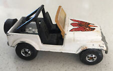 Vintage HOT WHEELS Real Riders CJ-7 W/ White Used