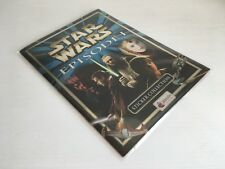 ALBUM DI FIGURINE STAR WARS EPISODE I 1 MERLIN COLLECTIONS 1999 QUASI COMPLETO