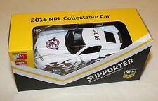 Manly Sea Eagles 2016 Nrl Official Supporter Collectable Model Car New
