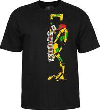 Powell Peralta Ray Barbee Tarot Cards Cliver Skateboard T-Shirt Black  M - 2XL