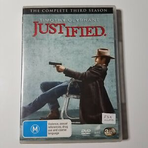 Justified: The Complete Third Season   DVD TV Series   Timothy Olyphant   2013