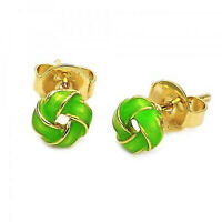 Polished Finish  E54 New 9CT Gold filled Chandelier Earring Heart Design