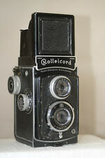 ROLLEICORD 1A TYPE 2 WITH 4.5 TRIOTAR,SPORTSFINDER AND MAGNIFIER CIRCA 1938