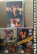 Best Of The Best 1, 2, 3 & 4 DVD NEW, FREE POSTAGE WITHIN AUSTRALIA REGION ALL