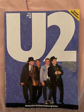 U2 guitar tablature & standard notation book. Selected songs Boy-Unforgettable