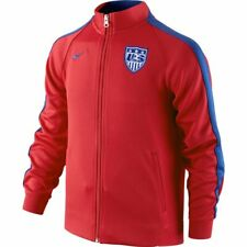 Nike USA Authentic N98 Youth Soccer Jacket Model 614027-657 Size YL MSRP $80