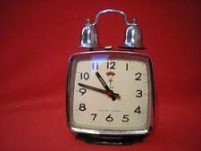 Reloj Despertador FIVE RAMS POLARIS Vintage Modern Clock Antiguo Retro winding