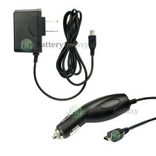 HOT! NEW HOME WALL AC + CAR CHARGER FOR GARMIN NUVI 1350 205 265W 250 600+ SOLD