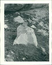 A Mano-metate Indian Grinder Original Photo