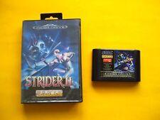 STRIDER 2 II (Sega Mega Drive, 1990) NO MANUAL STRIDER RETURNS