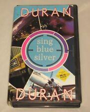 Duran Duran Sing Blue Silver - Music Video North American Tour 1984 VHS 80s rock