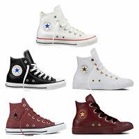 Converse Chuck Taylor All Star Hi Baskets Femmes Leder Chaussures de Sport