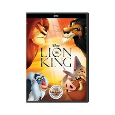 The Lion King (DVD, 2017) NEW
