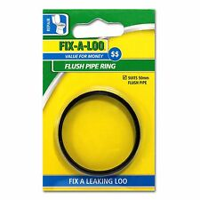 FIX-A-LOO FLUSH PIPE RING - SUITS 50mm FLUSH PIPE