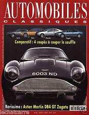 Automobiles Classiques N°83 - Aston Martin DB4 GT Zagato - Eds. Excelsior - 1997