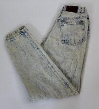 Vintage 80's Womens Jean Acid Wash High Waist Essentials Sport Size 6