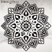 BIG SIZES #032 Border Decor Flor Art Craft Reusable Stencil Decor Size A 5 4 3