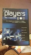 The Players Live in Nashville RARE (Music DVD, 2004) Eddie Bayers et al