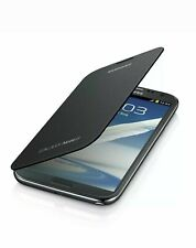Genuine Samsung Galaxy Note 2 II N7100 Flip Cover Gray New in Box