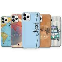 Travel Phone case cover fits for iPhone 4 5 6 7 8 11 X/XS,XS max XR, SE, 11 Pro