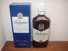 EMPTY Ballantine's Finest Malt Scotch Whisky Bottle & Box 70cL