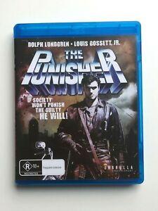The Punisher (1989) Blu-Ray Australian Import Dolph Lundgren Louis Gossett Jr.