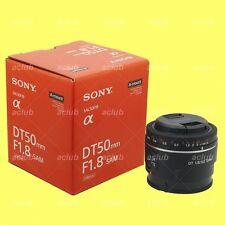 Genuine Sony DT 50mm f/1.8 F1.8 SAM Lens SAL50F18 for Alpha DSLR A-mount