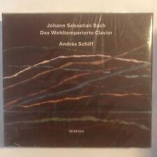 Johann sebastian Bach das wohltemperierte clavier Andras schiff cd neuf