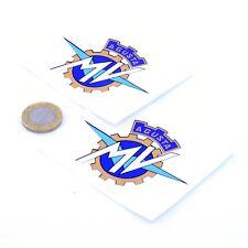 MV Agusta Badge Sticker Decal Vinyl Motorbike Motorcycle STICKERS 75mm x2