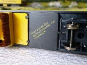 HS  Lux 8828 H0-Schrottsammler Fe1für alle HO-Gleisstaubsaugerwagen