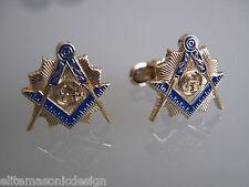 Masonic Master Mason  Cufflinks,  gold plated.